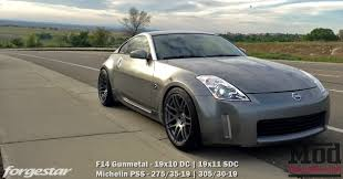 white nissan 350z forgestar f14 wheels for nissan 350z 370z gt r 240sx 300zx 5x114