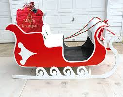 santa sleigh for sale reindeer promotions antique sleighs for sale