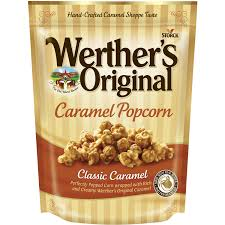 halloween popcorn gifts werther u0027s original classic caramel caramel popcorn 6 oz walmart com