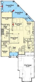 narrow lot house plans best 25 narrow lot house plans ideas on narrow house