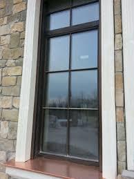 casement window fixed wooden bronze mixlegno s r l