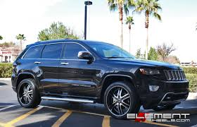 jeep grand cherokee with 2crave no 04 wheels by element wheels in