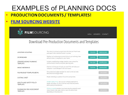 100 film pre production templates movie production schedule