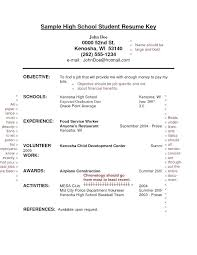 college resume exles for high school seniors resume high school senior resume exles template for college