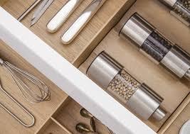 tiroirs cuisine l aménagement intérieur cuisine par siematic personnalisé innovant
