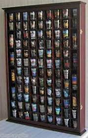 Oak Wall Mounted Display Cabinet Glass Display Cabinet Ebay
