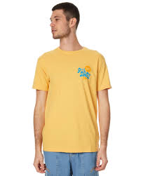 deus ex machina citrus toes ss tee yellow surfstitch surfstitch