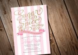 sugar and spice and everything baby shower baby shower ideas