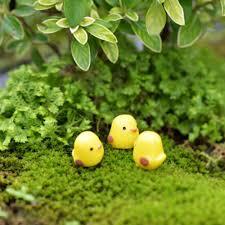 diy home desktop micro moss landscape decorations 5 10 pcs chicken