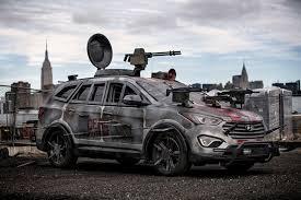 survival car santa fe sport zombie survival machine