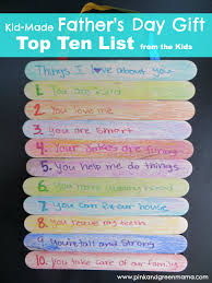 pink and green mama homemade father u0027s day gift top 10 things i