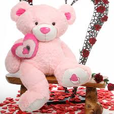 big teddy for s day cutie pie big 47 jumbo pink plush teddy teddy