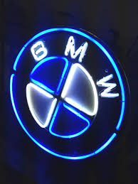 bmw car signs 10 best bmw auto car motorrad neon light sign images on