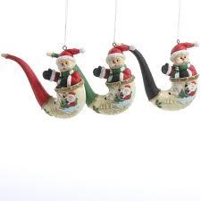 vintage inspired santa pipe ornament ornaments