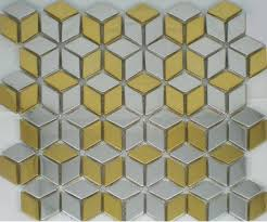 Gold Items Crystal Glass Mosaic Tile Wall Backsplashes by Silver Mix Gold Metal Mosaic Wall Tile Smmt015 Stainless Steel