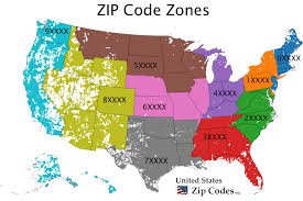 Usa Map By State free zip code map zip code lookup and zip code list