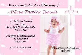 Personalised Christening Invitation Cards Personalised Invitations Christening Baptism Naming Day Girls Invites