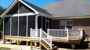 columbia sc screen porch builder custom decks porches patios