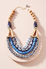 beaded collar necklace jewelry images Choker necklaces bib collar necklaces anthropologie