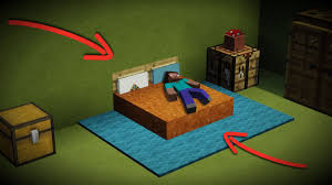 New Bed Design How To Make A New Minecraft Bed Design Sleep Lay Down Decorate