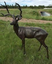 buck statues lawn ornaments ebay