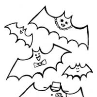 printable halloween coloring pages bats divascuisine