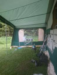 Sunncamp Cardinal Awning Pennine Quartz 6 Folding Camper Caravan Trailer Tent Bed