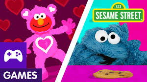 elmo valentines sesame s day with elmo and abby