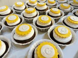 monogram cupcake toppers monogrammed m t wedding monogram cupcakes wedding