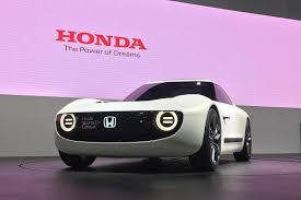 new honda sports car honda sports ev unveiled at the tokyo motor show