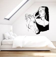 amazon com wall stickers vinyl decal sexy decor girl teen with amazon com wall stickers vinyl decal sexy decor girl teen with unicorn sexiest decor ever z2212i m 22 5 in x 30 in black home kitchen