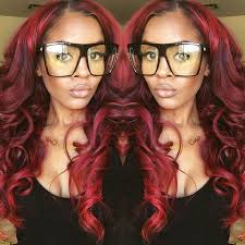 sew in hair gallery 96 best different shades of red hair images on pinterest