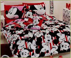 Minnie Mouse Single Duvet Set Mickey And Minnie Mouse Bedding Vnproweb Decoration