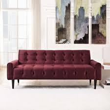 Maroon Living Room Furniture - maroon couch wayfair