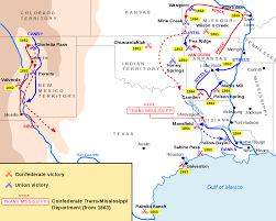 Map Of The Mississippi River Trans Mississippi Theater Of The American Civil War Wikipedia