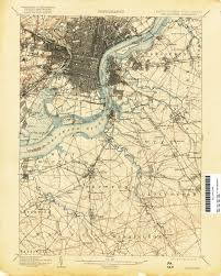Philadelphia Pennsylvania Map by
