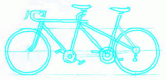 exam guide online how to draw a bicycle tandem