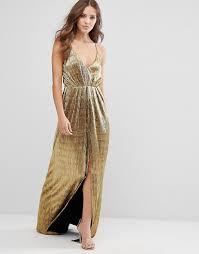 gold maxi dress millie mackintosh millie mackintosh gold maxi cami dress