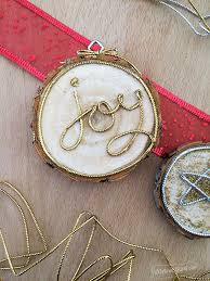gold word wood slice ornaments 100 directions