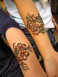 henna tattoos with the colors of spring sara u0027s henna unique