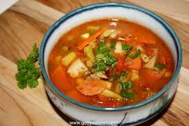 backyard garden vegetable soup pot panera mix crock bread