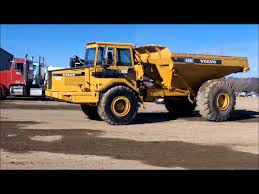 volvo haul trucks for sale 1994 volvo a25c articulated haul truck for sale sold at auction