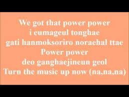 Lirik Lagu Exo Power Lirik Lagu Romanization