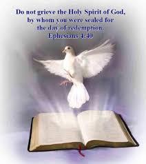 do not grieve the holy spirit of god ephesians 4 30 mission