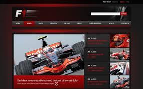car racing drupal template 38575