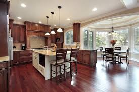 Kitchen Floors With Cherry Cabinets An Easy Guide To Kitchen Flooring