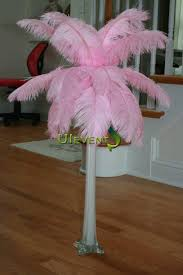 ostrich feather centerpieces baby pink ostrich feathers centerpieces