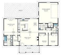 ranch style floor plans open ranch style house plans with open floor plan modern house plans
