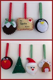 Christmas Craft Fair Ideas To Make - 25 unique felt christmas decorations ideas on pinterest felt
