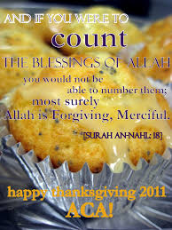 happy thanksgiving blessing happy thanksgiving the islamic life